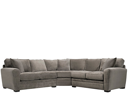 Artemis Ii 3 Pc Microfiber Sectional Sofa Sectional