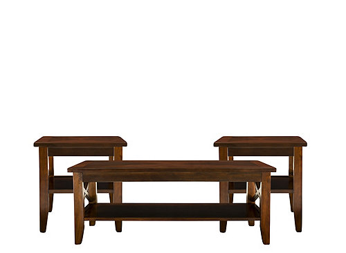 Kenroy 3 Pc Table Set Coffee Tables Raymour And Flanigan Furniture