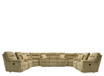 Pierce 5-pc. Chenille Reclining Sectional Sofa