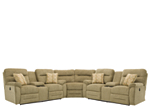 Pierce 3-pc. Chenille Reclining Sectional Sofa