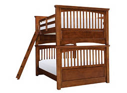 American Spirit Full-Over-Full Bunk Bed