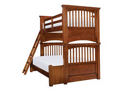 American Spirit Twin-Over-Full Bunk Bed