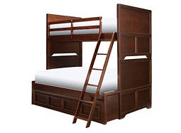 Wrenn Twin-Over-Full Storage Bunk Bed