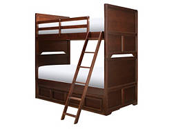 Wrenn Twin-Over-Twin Storage Bunk Bed