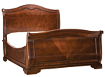Heritage Court Queen Sleigh Bed
