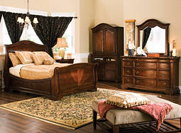 Heritage Court 4-pc. King Bedroom Set