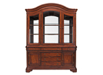 Vintage 2-pc. China Cabinet w/ Lighting