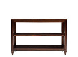 Evans Glass Sofa Table