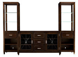 "Evans 5-pc. Wall Unit w/ 60"" TV Console"