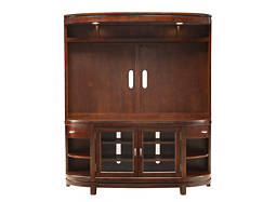 "Avalon 2-pc. Entertainment Center w/ 67"" TV Console and Lighting"