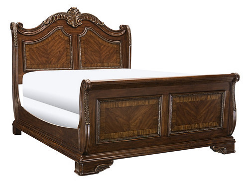 Catalina King Sleigh Bed King Beds Raymour And