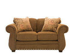 kathy ireland Home Kensington Chenille Loveseat