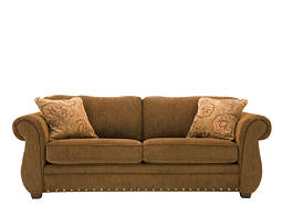 kathy ireland Home Kensington Chenille Queen Sleeper Sofa