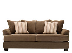 kathy ireland Home Ryann Microfiber Queen Sleeper Sofa