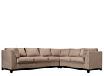 kathy ireland Home Wellsley 3-pc. Microfiber Sectional Sofa