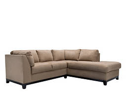 kathy ireland Home Wellsley 2-pc. Microfiber Sectional Sofa