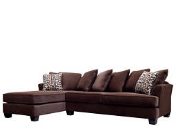 kathy ireland Home Ryann 2-pc. Microfiber Sectional Sofa