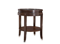 Lakefield Glass End Table