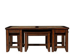 Portman Coffee Table w/ Stools