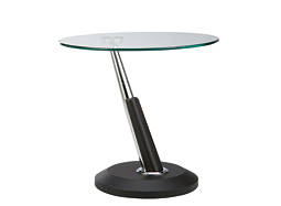 Modesto Glass End Table