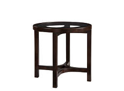 Juniper Glass End Table