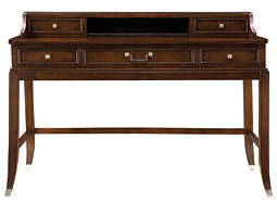 Lakefield Writing Desk and Hutch