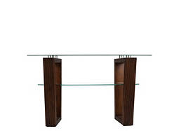 Cordoba Glass Console Table