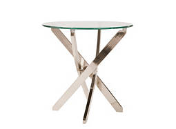 Zila Glass End Table