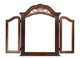 Stafford Arched Trifold Mirror