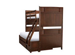 Saratoga Twin-Over-Full Bunk Bed w/ Trundle