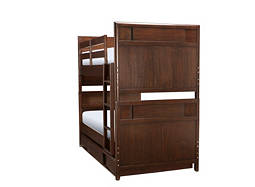 Saratoga Twin-Over-Twin Bunk Bed w/ Trundle