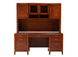 kathy ireland Home Hanover 2-pc. Credenza and Hutch