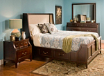 Keaton 4-pc. King Platform Bedroom Set w/ 2-sd. Storage Bed