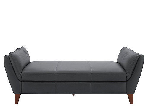 Greccio Leather Chaise Lounge Chaises Raymour And