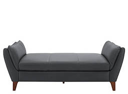 Greccio Leather Chaise Lounge