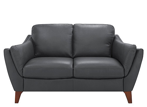 Greccio Leather Loveseat Loveseats Raymour And