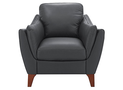 Greccio Leather Chair Living Room Chairs Raymour And