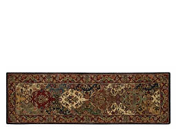 "India House 2'3"" x 7'6"" Multicolored Runner Rug"