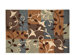 "Contour 3'6"" x 5'6"" Multicolored Area Rug"