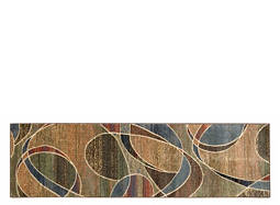 "Expressions 2'3"" x 8' Multicolored Runner Rug"