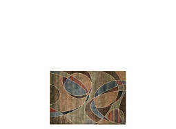 "Expressions 3'6"" x 5'6"" Multicolored Area Rug"