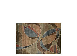 "Expressions 5'3"" x 7'5"" Multicolored Area Rug"