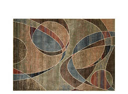 "Expressions 7'9"" x 10'10"" Multicolored Area Rug"