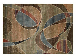 "Expressions 9'6"" x 13'6"" Multicolored Area Rug"
