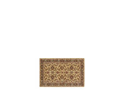 "India House 2'6"" x 4' Gold & Red Area Rug"