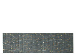 "Cambridge 2'3"" x 8' Slate-Blue Runner Rug"