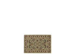 "India House 2'6"" x 4' Green Area Rug"