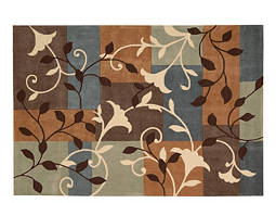 "Contour 5' x 7'6"" Multicolored Area Rug"