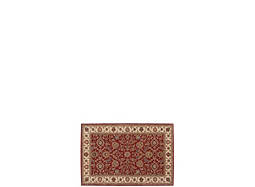 "India House 2'6"" x 4' Brick Area Rug"