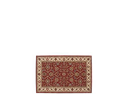"India House 3'6"" x 5'6"" Brick Area Rug"